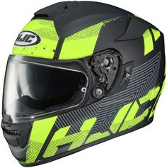 HJC Knuckle Rpha ST Full-Face Helmet Single Shield with Pinlock Pins, High-Visibility Grey/Matte Black Sport Bike Helmets, Full Face Motorcycle Helmets, Full Face Helmets, Sport Bikes, Hjc Helmets, Cedar Park, Street Bikes, All In One, Things To Sell