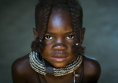 Young Himba Girl With Ethnic Hairstyle, Epupa, Namibia | Flickr