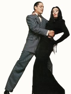 Morticia Addams' dress replica
