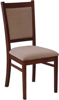 Amish Irvine Dining Room Chair Prairie Collection Versatile enough for a formal dining room or a casual kitchen table, the Amish Irvine Dining Room Chair serves up style and comfort. This lovely Solid Wood Dining Chairs, Dining Table Chairs, Upholstered Dining Chairs, Wooden Chairs, Maple Furniture, Amish Furniture, Chair Design Wooden, Furniture Design, Furniture Ideas