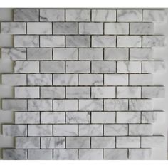 We are the source of the best quality Carrara Brickbond Honed Marble Mosaic $19 per sheet