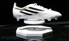 4bf62b412175 Adidas labs unveils 99-gram adizero soccer boot and smart ball to help  raise your game