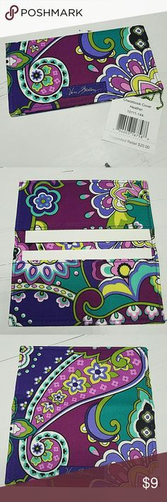 SALE! Vera Bradley Checkbook Cover or Slim Wallet Perfect condition, never used, with retail tag! Includes the original 2 cardboard inserts as shown in 2nd photo.  HEATHER pattern  * Looking for more Vera Bradley items, visit my closet.  * 10% OFF BUNDLES! * FAST SHIPPING! Vera Bradley Bags Wallets