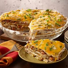 Turn everyone's favorite enchilada into an even-better casserole dish.
