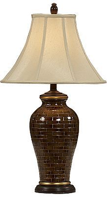 The Rich Hues Of #Havertys Tiles Porcelain Table Lamp Is A Unique Accent  For A