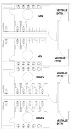 Public Restroom Design Google Search Work Ideas Pinterest