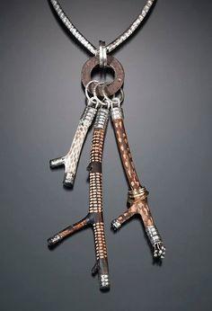 twig pendant by Celie Fago