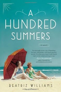 "A Hundred Summers by Beatriz Williams - I seriously inhaled this book, finished it in one day! Quick read - set in the 1930s, friendship, love, betrayal, family mysteries, beach houses........loved it! Need to look up her other book ""Overseas"" next."