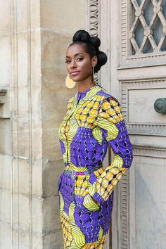 Though France and the African continent are worlds apart in many ways, Vlisco fabrics and the world's fashion capital share many common - fashionable - threads.
