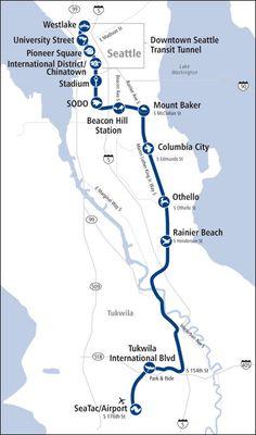 Pin By Linda Dixon On Seattle Activities Pinterest Light Rail