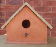 Birdhouse  Rustic Antique  Upcycled by PaintingPirates on Etsy, $20.00