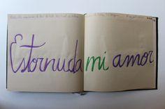 LAURA GUILLÉN 13-9-15 diario arte artista amor letras  sketchbook art artist love letters