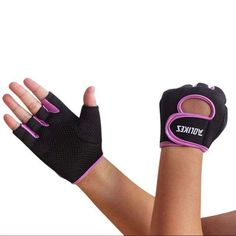 Leezo Unisex Fitness Exercise Workout Weight Lifting Sport Gloves, Gym Training Gloves (Black, S) Yoga Gloves, Gym Gloves, Bike Gloves, Workout Gloves, Cycling Gloves, Hip Workout, Cycling Workout, Workout Tops, Workout Fitness