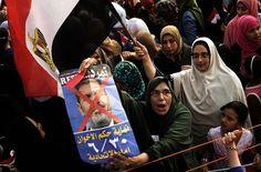 Manifestantes se concentran en Plaza Tahrir (Foto: La Nación Mundo)