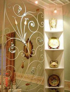 decoratieve smeedijzeren, smeedijzeren decoratieve muur gescheiden uit nep ramen, smeedijzeren ingang decoratieve frame(China (Mainland))