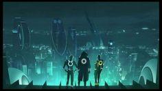 TRON Uprising - Opening animatic