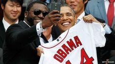 """Gedung Putih kritik Samsung karena gunakan foto """"selfie"""" Obama untuk kepentingan promosi"""