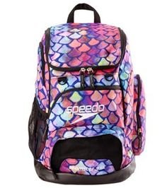 Speedo Large 35L Teamster Backpack - Scales - One Size  5aa78ac446