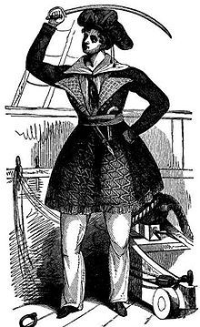 """Awilda, also known as Alwilda, was a legendary female pirate.  Awilda was the daughter of a 5th century Scandinavian king; in one source he was named Synardus and was a """"Gothic king"""".    The King, her father, had arranged a marriage for her to Alf, the crown prince of Denmark,whose father was King Sygarus of Denmark. However, Awilda refused her father's choice.She and some of her female friends dressed like sailors and commandeered a ship.While sailing, they came across a pirate ship that…"""