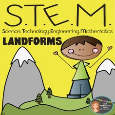 STEM Engineering - Landforms PDF & Powerpoint Elementary Grades from Ivy Taul on TeachersNotebook.com -  (35 pages)  - STEM Engineering is not just for big kids! Your students will love this STEM design brief where they get to plan, create, and reflect on creating a landform. You will love it because the PDF includes detailed teacher directions, parent letter about the pr