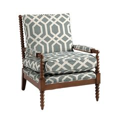 Our Shiloh Spool Chair offers deep seat comfort framed with rich vintage texture. Hardwood frame features thick poly-foam seat and back for give and support. Accent Chairs For Living Room, Formal Living Rooms, Best Chair For Posture, Metal Outdoor Chairs, Spool Chair, Library Chair, Comfortable Office Chair, Ottoman Bench, Engineered Hardwood
