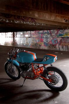 ..._Cafe Racer Special: Honda CB 550 Gulf Le Mans Cafè Racer