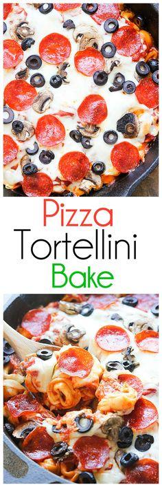 Pizza Tortellini Bak