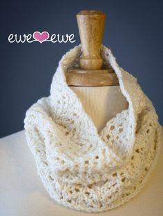 Ewe Ewe Angel Food Cake Cowl Knitting PDF Pattern #cowl #knitting pattern (http://www.nobleknits.com/ewe-ewe-angel-food-cake-cowl-knitting-pdf-pattern/)