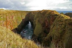 bullers of buchan.  #scotland near #peterhead.  i hope to take Bella there someday.
