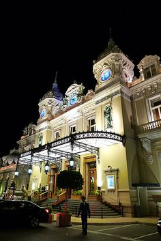 Monte Carlo Casino. One of the world's first major casinos is situated on the Place du Casino in Monte-Carlo, Monaco.