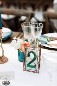 Stained Glass Table Numbers - 5'' X 7'' - One Of A Kind. Stained Glass Table Numbers - 5'' X 7'' - One Of A Kind on Tradesy Weddings (formerly Recycled Bride), the world's largest wedding marketplace. Price $137.96...Could You Get it For Less? Click Now to Find Out!