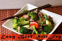 Easy Beef Stir Fry | Divine Health
