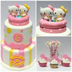 HK pool party cake