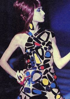 Marianne Olry for Thierry Mugler, 1989