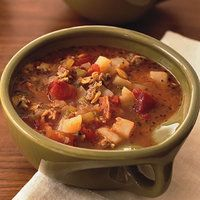 Rachel Ray's Fire Roasted Manhattan Clam Chowder- seriously easy and one of my favorite soups