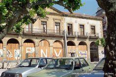San Nicolas plazaren birmoldaketa, 80ko hamarkadan // Remodelación de la Plaza de San Nicolás, años 80 (Colección Daniel Zubimendi) (ref. DZN01487)
