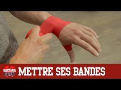 BANDAGE BOXE - METTRE SES BANDES DE BOXE EN 2 MINUTES (facile et rapide) - YouTube
