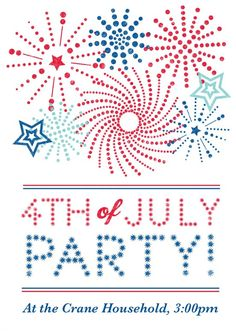 Create custom cards for holidays like the Fourth of July with the Martha Stewart CraftStudio app.