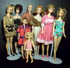 One big happy Barbie family!