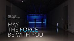 May The Force Be with You - interactive kinetic installation, 2013. This project is based on my personal experience of being discriminated, ...