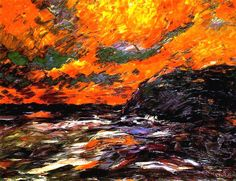 Emil Nolde - Autumn Sea XI (1910) - Google Search