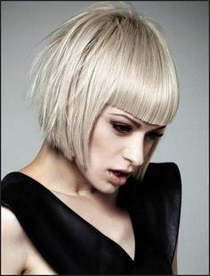 Marvelous 1000 Images About Hair On Pinterest Blunt Bangs Short Short Hairstyles Gunalazisus