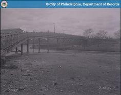 Aspen & 27th Street- Bridge Over Main Line Reading -1940