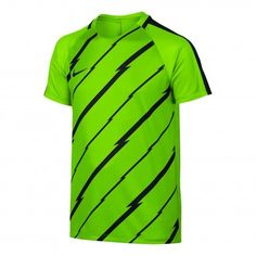 Nike Dry Squad voetbalshirt junior electric green black