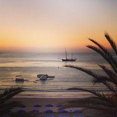 Playa de Las Vistas in Los Cristianos, Kanári szigetek