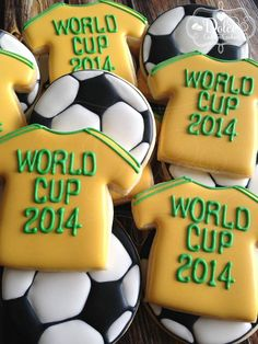 Cookies for a World Cup Final Party by Dolce