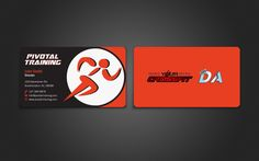 Pivotal Training Business Card by indezyn