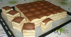 Piškótové Tango rezy s pudingovým krémom! Sweet Cookies, Cake Cookies, Cupcake Cakes, Sweet Treats, Czech Desserts, Cookie Desserts, Czech Recipes, Hungarian Recipes, Healthy Sweets