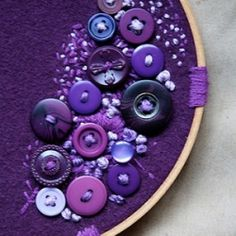 Button crafts that'll leave you tempted to clean out your button bag. (via Violet Hoopla)