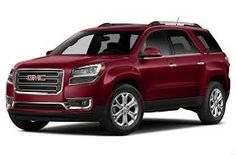 gmc acadia red - Google Search